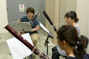 Shion代表メンバーとパート練習